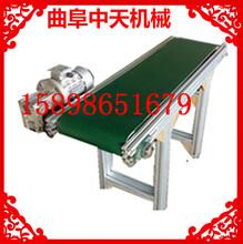厂家直销皮带输送机防油耐腐保定爬坡式输送机图片