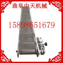 大倾角可升降块煤装车机定制瑞安移动型皮带传送机图片