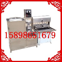 曲阜豆腐机厂家广西家用电豆腐机做老豆腐机图片