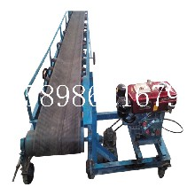 集装箱装货用皮带机专业生产株洲皮带输送机定做图片
