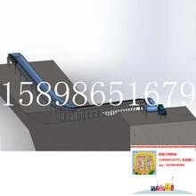 化工用输送机多用途株洲挡板式胶带输送机图片