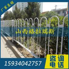 山西太原交通京式护栏城市锌钢道路车道隔离乙型护栏围栏厂家图片