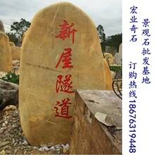 特价批发园林景观石隧道口放置的园林景观石广东园林景观石厂家