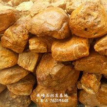 庭院景观石别墅高档小区造景假山真石天然黄蜡石批发厂家