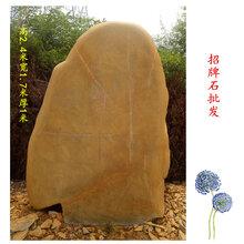广西天然招牌石批发,刻字招牌石厂家,大型黄蜡石图片