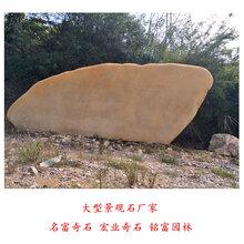 大型景观石厂家四川园林景观石价格大型黄蜡石批发