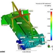 塑胶模具模流分析,塑胶件填充,保压,翘曲分析,10年模流分析经验图片