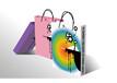 印刷厂设计印刷高档手提袋,白卡纸手提袋,环保袋
