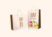 高档手提袋,白卡纸手提袋,环保袋,包装盒设计印刷