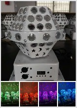 LED四眼星月图案灯