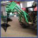 園林果園植樹鉆坑機后懸掛式挖坑機大馬力地鉆打窩埋桿挖坑機