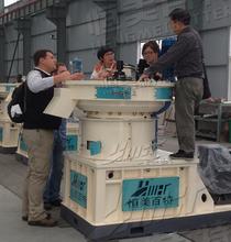 山东木糠颗粒多少钱一吨新型生物质燃料颗粒机恒美百特颗粒机厂家直销图片