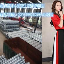 波形护栏板上锌量、景区道路护栏规格、天津锌钢护栏板