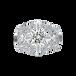 长沙玛丽莱钻石Lady系列Romantic白18K金1克拉E色SI1净度求婚钻戒