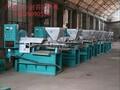 厂家直销宁夏葵花籽油加工榨油设备中型螺旋式光华牌榨油机一机多用自动化热榨机图片