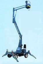 广西地区曲臂式升降机曲臂式高空作业平台移动升降机车载升降机