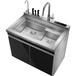 荣事达品冠集成水槽洗碗机WS90