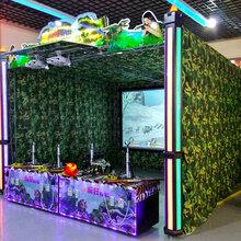 电玩城4D射击馆9DVR动感影院设备儿童VR体感游戏机