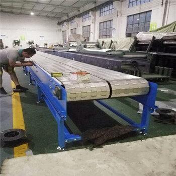 板链输送机输送线不锈钢链板直行输送机重型链板机