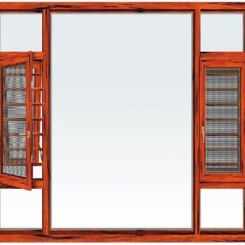广安85断桥窗纱一体平开窗_豪百顺门窗代理