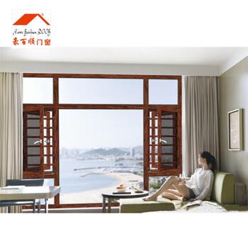 广州平开窗生产厂家_108断桥窗户价格一平米
