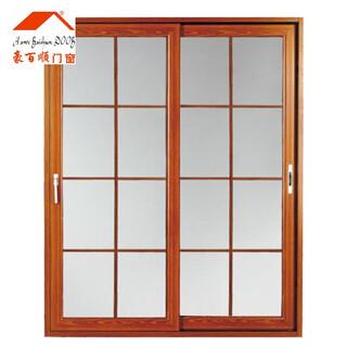 嘉兴铝窗铝合金门窗_80断桥窗纱一体价格图片1