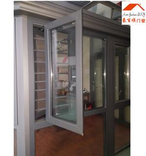 兰州铝合金门窗哪个品牌性价比高_50系列平开窗价格图片4