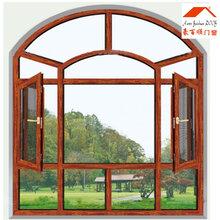 烟台铝合金门窗制作_90断桥窗纱一体窗图片