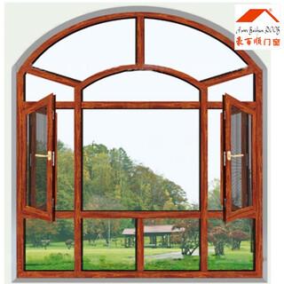 兰州铝合金门窗哪个品牌性价比高_50系列平开窗价格图片3