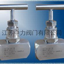DN10高温高压承插焊针阀图片
