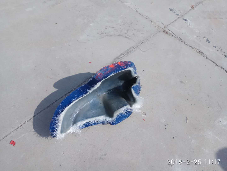 玻璃钢哈雷摩托车护腿男女款电动车安全护腿青岛厂家