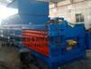 贵州省卧式废纸箱液压打包机价格全自动压缩捆包机无人化操作