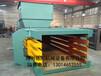 河南省各种吨位废纸皮液压打包机大型牧草废纸箱打捆机有生产现场