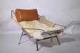 现代创意客厅休闲躺椅,真皮休闲椅真皮家具厂家直销