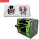 荆州市金属亚克力标识标牌打印首选弘旭HX118-3UV打印机