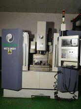 二手臺灣品正MCV-M8H加工中心二手高速機CNC三軸線軌850加工中心圖片