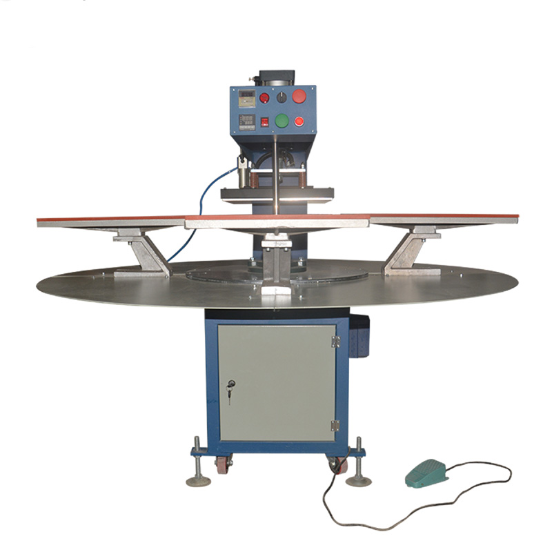 厂家直销高速三工位四工位T桖衣服烫画机6080CM黑迈Q-Jet+