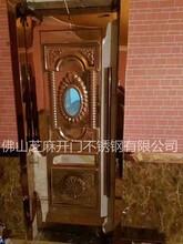 订制KTV门促销酒吧会所灌音室隔音门推拉门不锈钢门包房包厢门图片