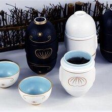 创意礼品陶瓷快客杯便携式陶瓷茶具订做