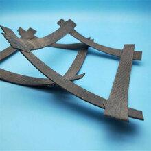 8根钢丝的土工格栅�娴枚嗌�KN钢塑复合土工格栅图片