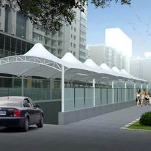 广州膜结构停车棚广州停车棚哪家好广州哪里做膜结构停车棚
