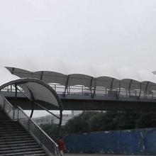 热销新品供应膜结构停车棚自行车棚-商场膜结构焊接-膜结构景棚批发
