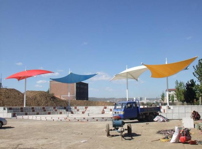 贵阳网球场膜结构