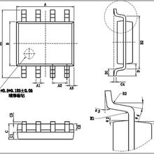 触摸IC厂家双触控双输出ZP8022S双通道触摸芯片图片