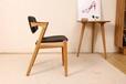 现货批发代发休闲椅子家用实木餐椅靠背软包咖啡椅餐厅办公电脑椅