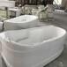 新款设计创意浴缸主题酒店宾馆浴盆一体式成型亚克力独立式浴缸