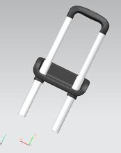 拉杆箱配件设计、拉杆设计