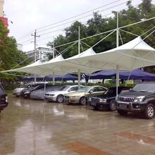 定制膜结构停车棚膜结构公交站台张拉膜景观棚设计