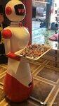 餐饮机器人可应用于展会儿童主题餐厅房地产销售中心,火锅店,茶餐厅咖啡店,烤肉店等
