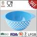 出口工厂直销彩色印花搅拌盆密胺白点图案沙拉碗厨房碗[环保]美耐皿餐具厂家